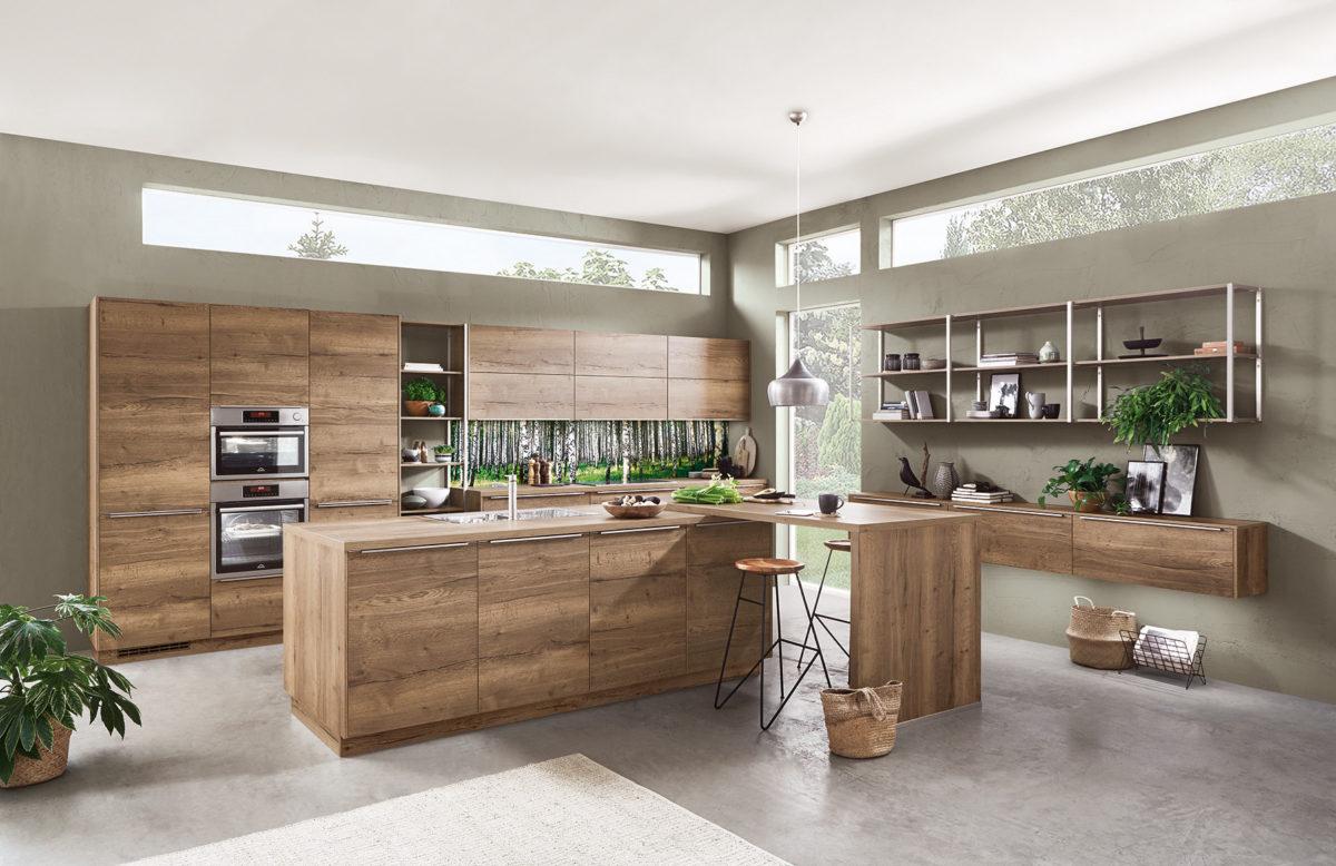 Tendencias cocina 2020 - madera