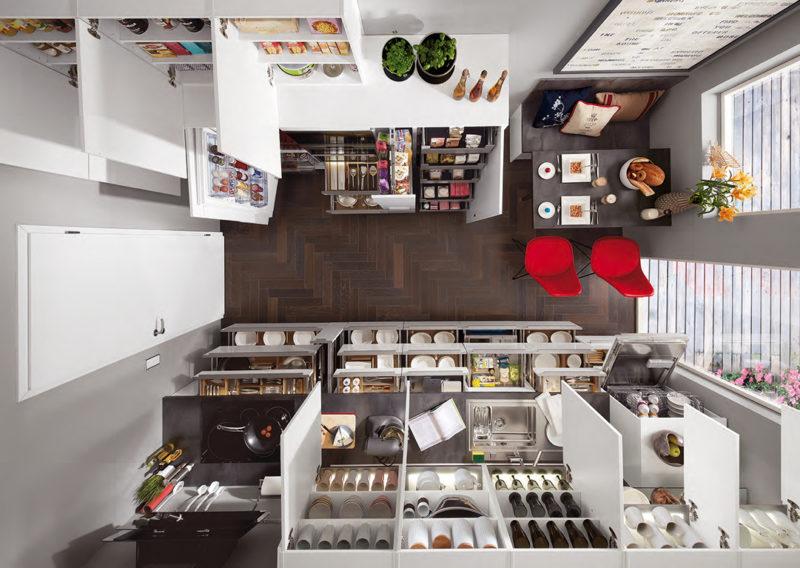 Tendencias cocina 2020 - aprechamiento espacio