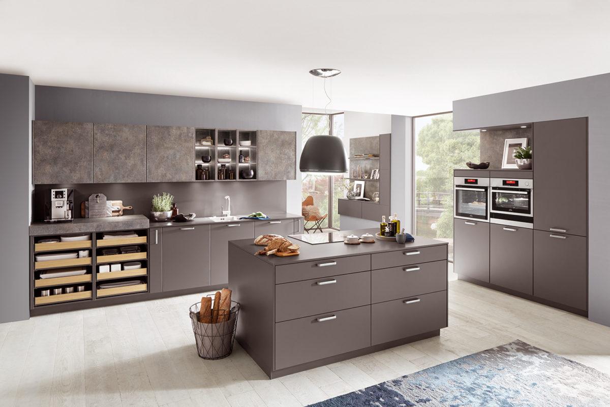 Tendencias cocina 2020 - gris pizarra supermate