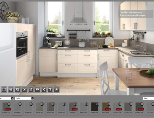 Nuevo configurador y planificador de cocinas